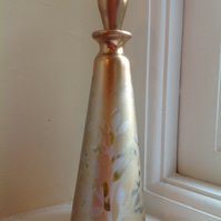Hand decorated perfume bottle