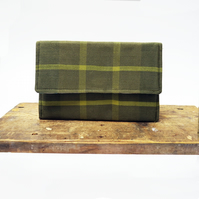 Handwoven Sustainable Silk Clutch Bag