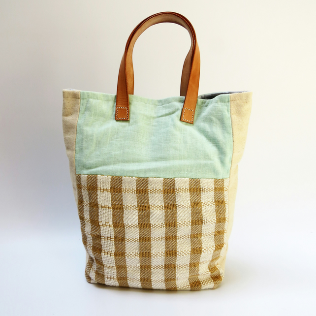 Handwoven Sustainable Large Tote Bag