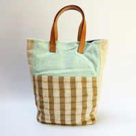 Gorgeous Summer Large Tote Bag - Handwoven & Sustainable