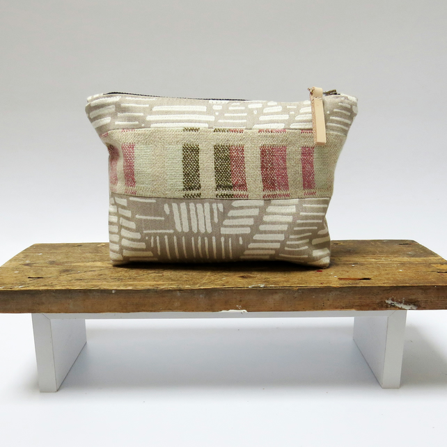 Handwoven Sustainable Make Up Bag