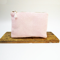Handwoven Sustainable Zip Pouch