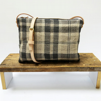 Sustainable Linen Crossbody Bag