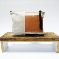 Stunning Natural Wristlet - Handmade & Sustainable