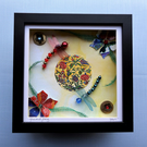 Yin and Yang, Dragonfly Duo Box Frame