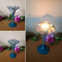 Tea Light Holder  'Cocktail' Range
