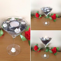 Stunning 'Cocktail' Style' Tea Light Holder
