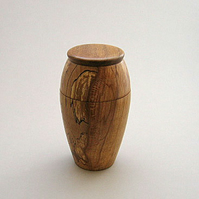 lidded storage jar