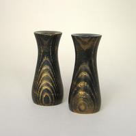 A pair of bud vases