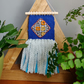 Woven and fabric wallhanging