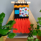 Mini woven and fabric wallhanging