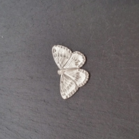 Butterfly pin badge,  pp3   33 mm wide