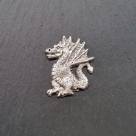 Dragon pin badge  pp7,  40mm tall