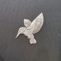 Kingfisher pin badge,  pp18  58mm high
