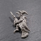 Witch pin badge,  pp34  40mm tall