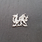 Welsh dragon pin badge,  pp36  25mm wide