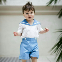 Boys and Girls Sailor Suit