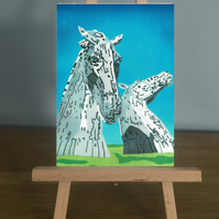 Blank Card - The Kelpies