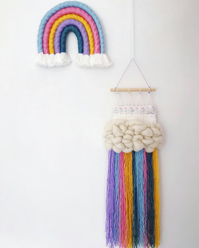 Macrame rainbow set