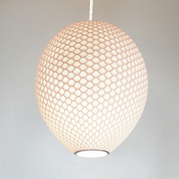 Polar White Lampshade, Ceiling Lamp, Pendant Light - Hive H20 -20cmx20cm