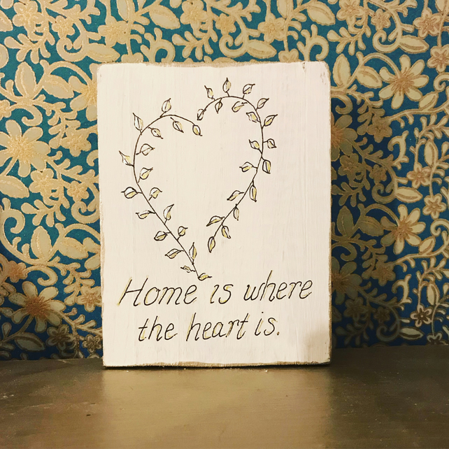 Wood Art - Home Quote