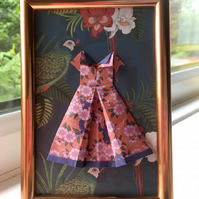 Framed Origami Dress
