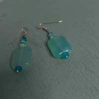 Opal Swirl Earrings