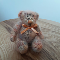 Hand knitted collectors Teddy Bear