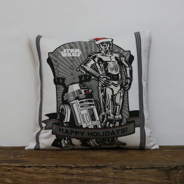 Star Wars Christmas Cushion