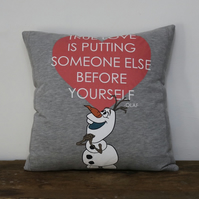 True Love, Olaf, Cushion