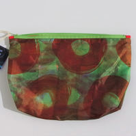 Hand Painted Pattern Cosmetic bag