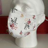 Face Mask, Face Covering, Adult Ladies Size, FREE UK PP