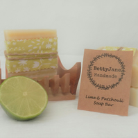 Lime & Patchouli Soap Bar