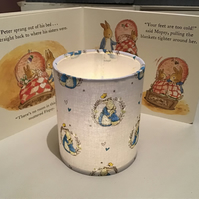 Handcrafted Peter Rabbit Nursery Nightlight