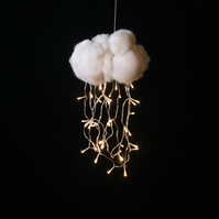 Rain Cloud Night Light