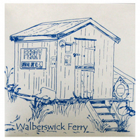 Walberswick Ferry Hut Card