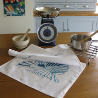 Aldeburgh Shell Tea Towel