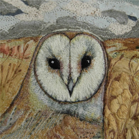 'Barn-Owl' Limited Edition Print