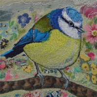 'Blue Tit' Limited Edition Print