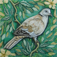 'Collared Dove' Limited Edition Print