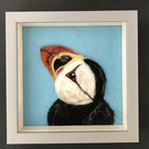 Needlefelted Nosey Puffin