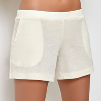 Millesime Sleepwear Shorts Ladies Short Bottoms, Shorts with Pockets