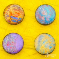 Fluid Art Mix Magnets