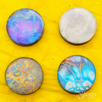 Fluid Art Mix 2 Magnets