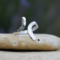 Sterling Silver handmade Toe ring or Midi ring