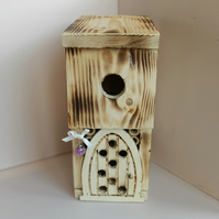 Make a Wish Whimsical Fairy Bird house with magical door for little Bugs.