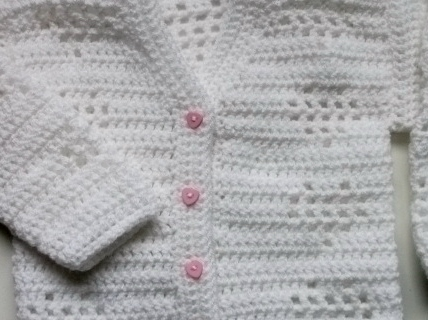 Serena Filet Croched Cardy Pattern