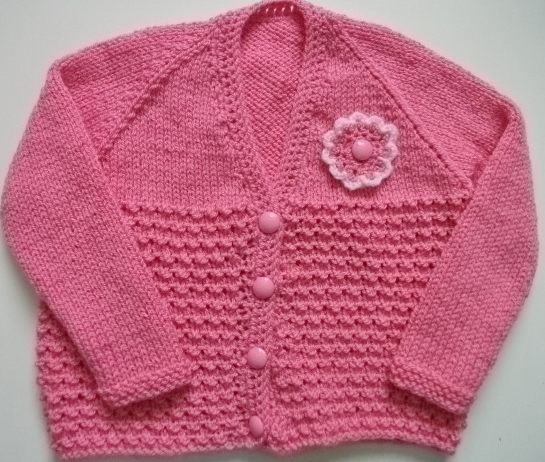 Wendy Baby Cardy Pattern