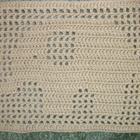 Elephant Filet Crochet Blanket Pattern