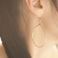 Handmade Gold Filled Medium Teardrop Earrings